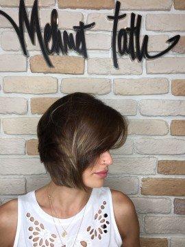 bayan saç kesimi kat kat