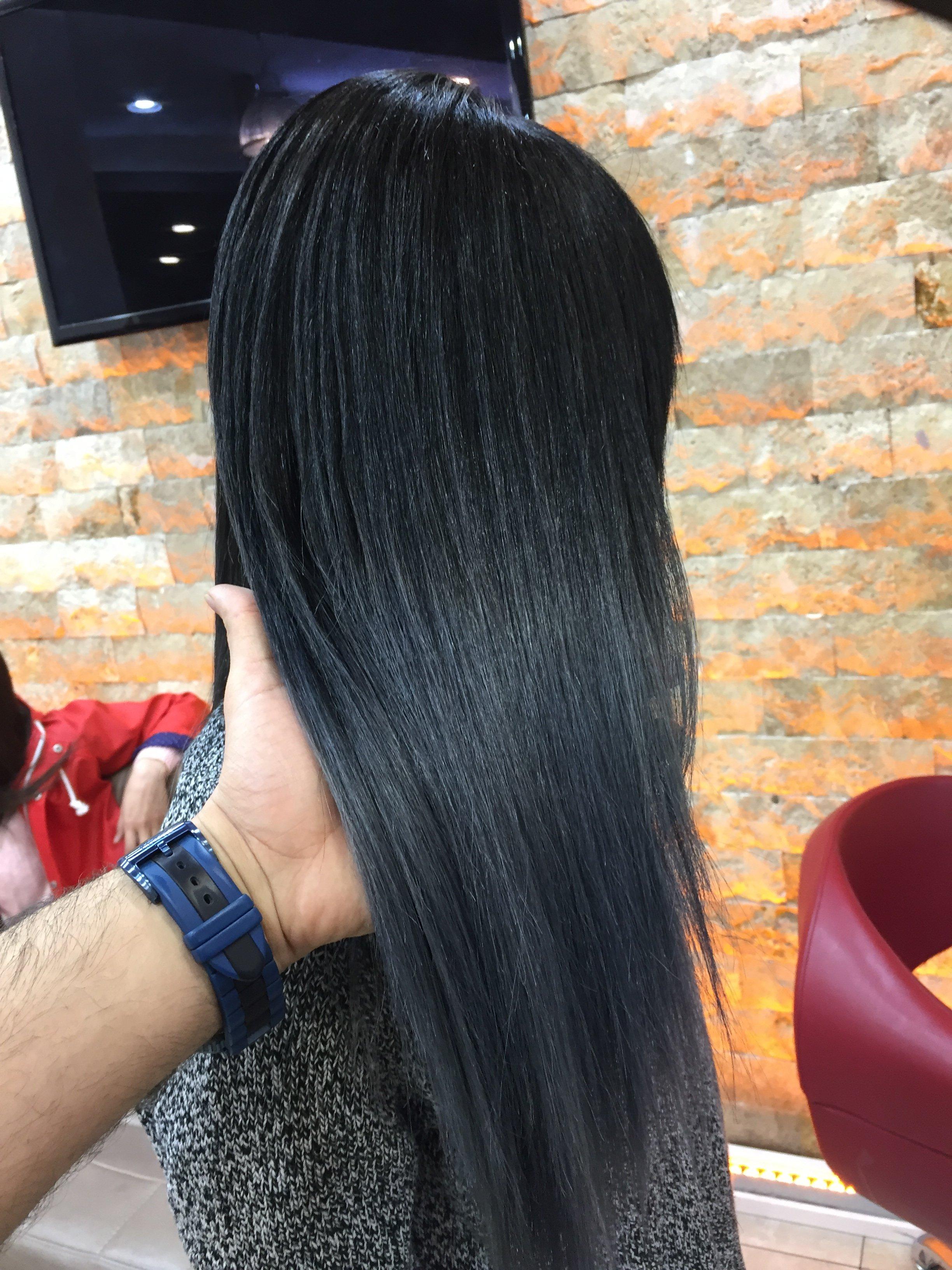 Siyah Saça Uygun Balyaj Renkleri Mehmet Tatlı