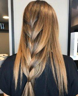 ışıltılı kumral saç boyası