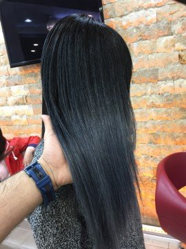 siyah saç boya tatlı